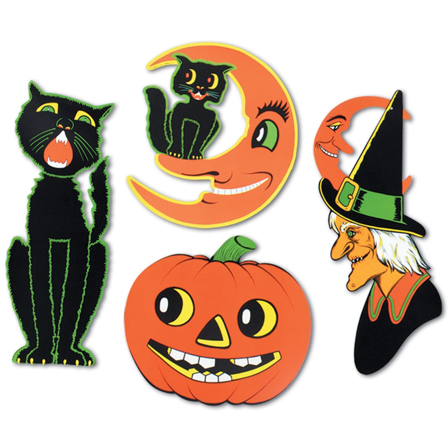 halloween party wall decorations - Halloween Cutout Decorations