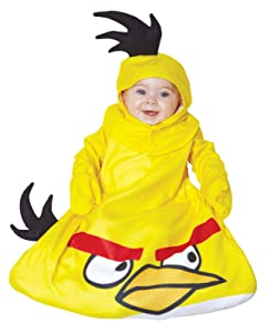 Baby Yellow Angry Bird Costume