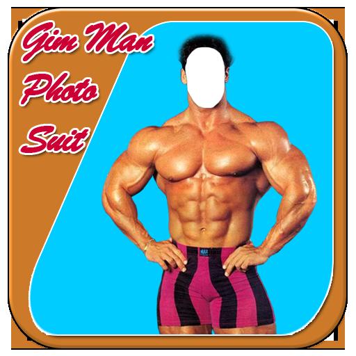 Gym Body Man Photo Suit Free