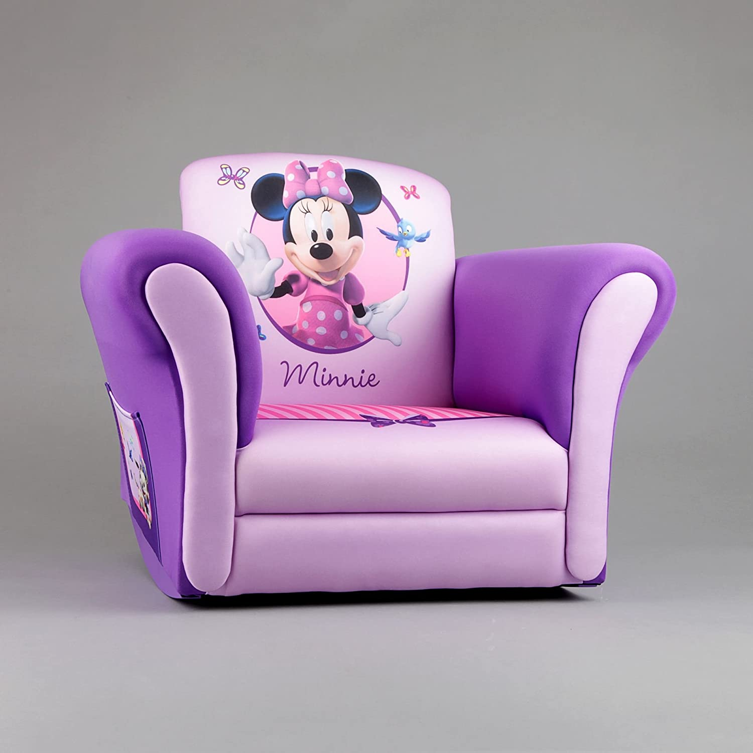 Minnie Mouse Upholstered Rocking Chair