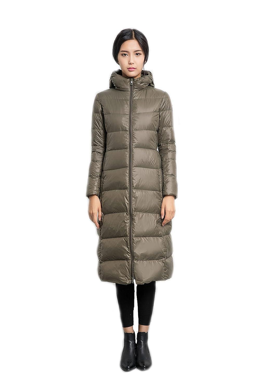 Damen Daunenjacke Lightweight Padded Outerwear Daunenmantel mit Kapuzen kaufen
