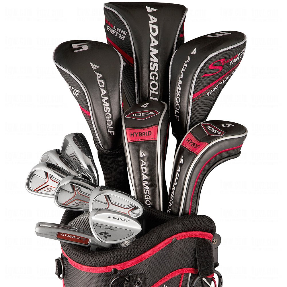 Adams Mens Speedline Plus Complete Golf Clubs Set