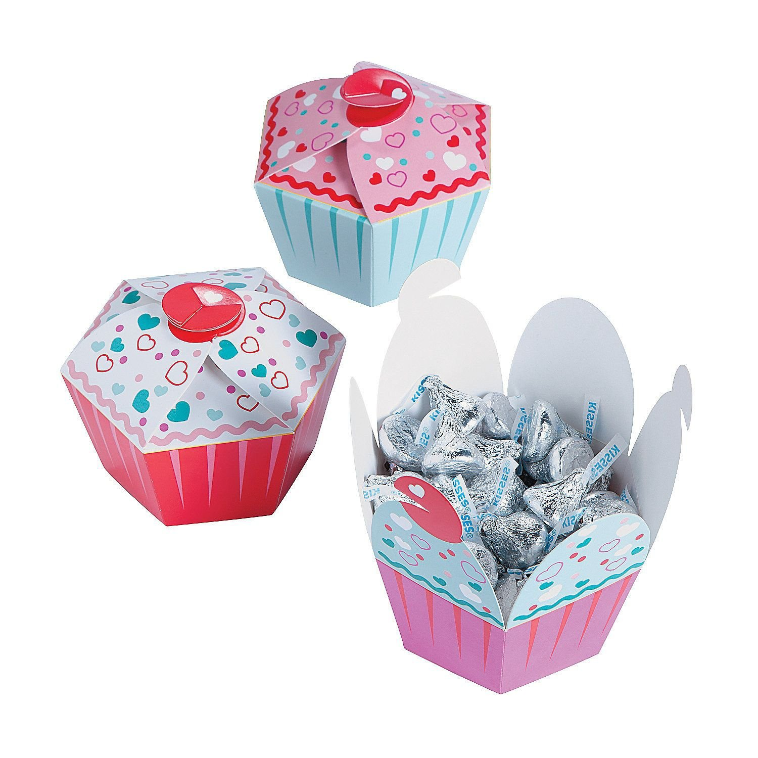 Valentines Day Cupcake Boxes Valentines Day Wikii