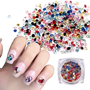 MEILIND Nail Art Rhinestone Glue Super Sticky Gems Gel Bead Adhesive Polish Builder Decoration With Pen Tools 15ml(UV Light Cure Needed) (Color: One Set Glue)