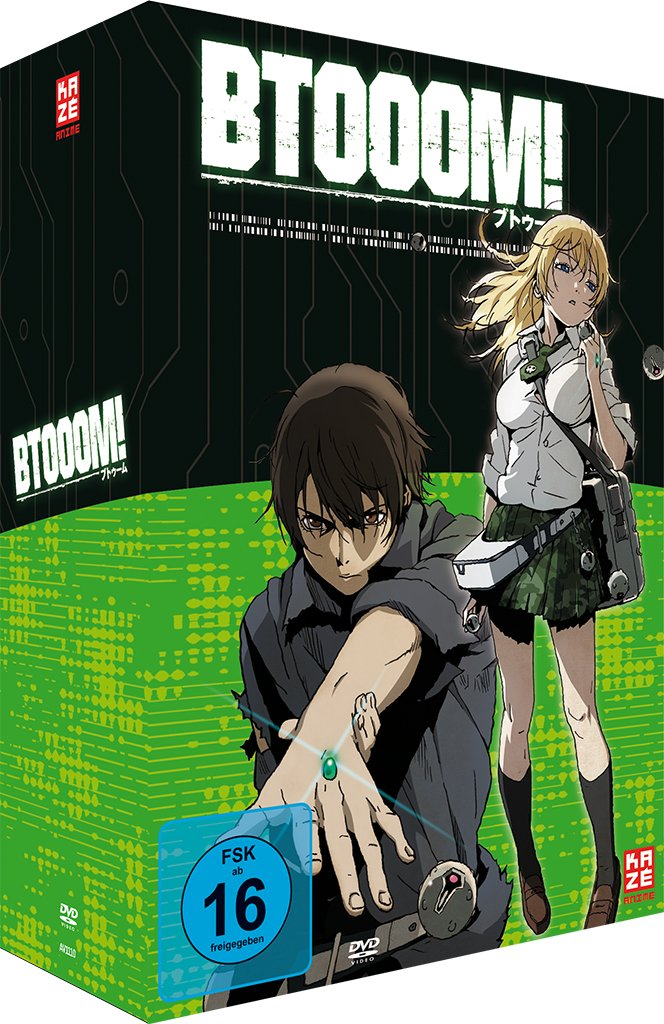 Btooom! - Volume 1, DVD