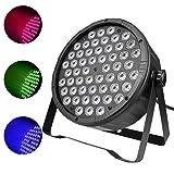 LED Par Lighting 90W Round Flat,DMX RGB Wash Light for Bar, Disco,Party Club Events service, Theater, Concert Sound Activated,Master-slave, Auto Running (Color: PAR008S)