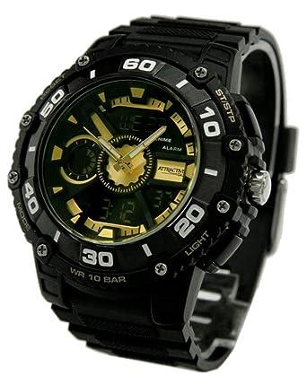 buy q q attractive analog digital black dial men s watch q q attractive analog digital black dial men s watch de10j502y