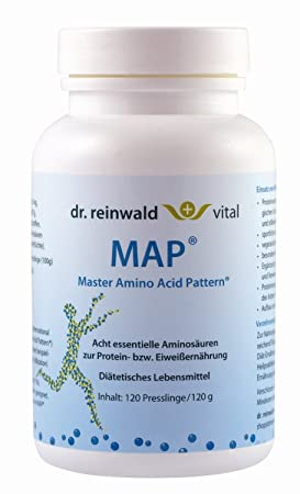 dr. reinwald Master Amino Acid Pattern MAP, 4 Pack (4 x 120 g)