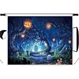 LB 10x8ft Halloween Party Backdrop for Photography Hallowmas Photo Background Custom Vinyl Studio Prop WSJ324 (Color: WSJ324, Tamaño: 10x8ft)