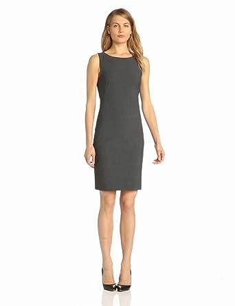 Theory Women's Betty Urban Shift Dress, Charcoal, 0