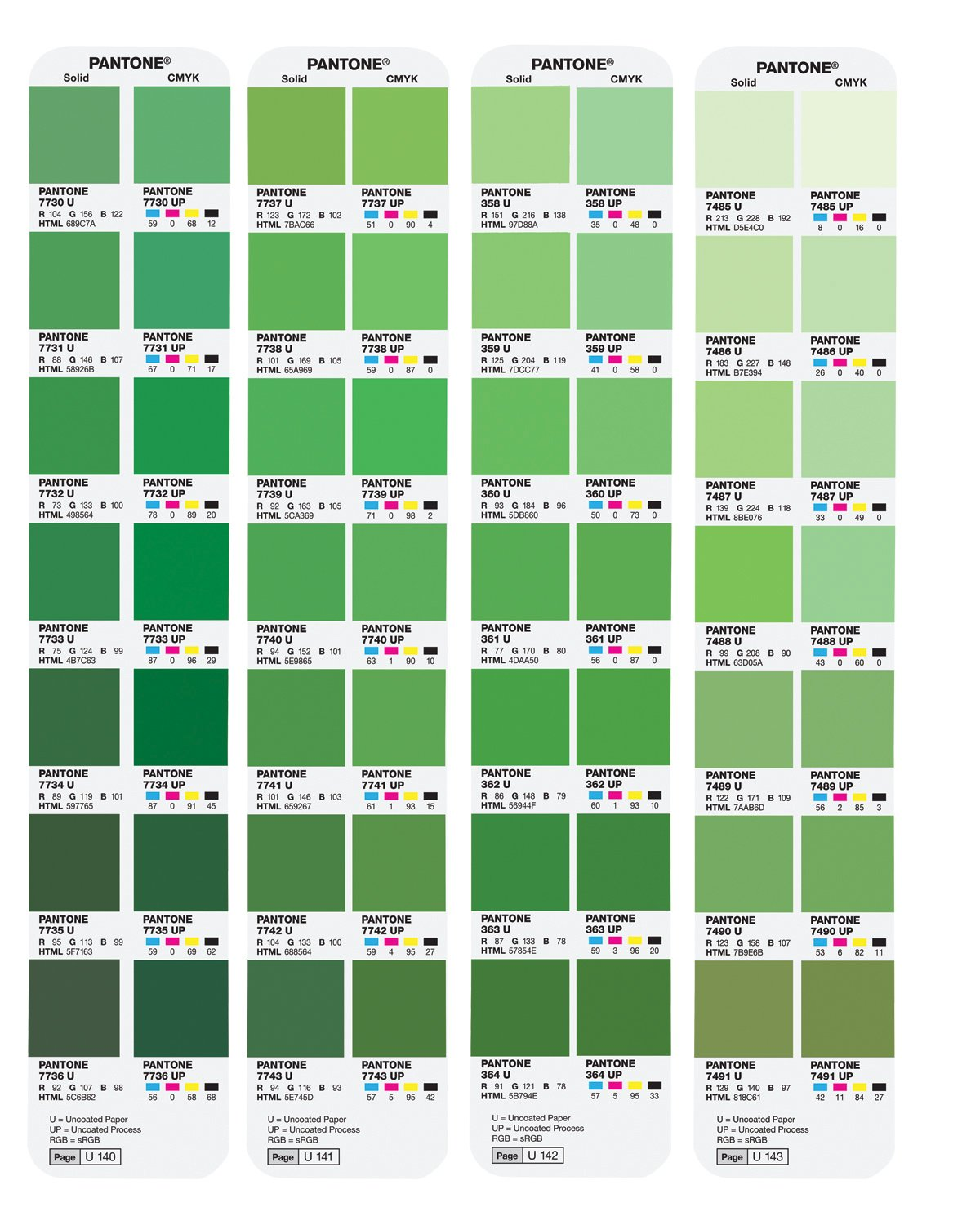 Green color chart with names pictures to pin on pinterest for Dark sage green color