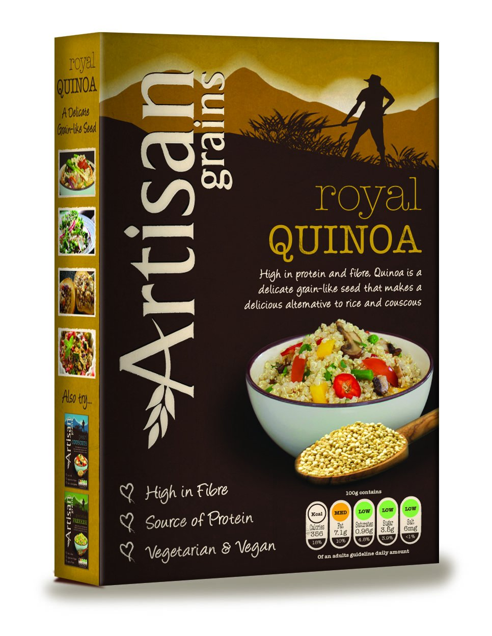 Artisan grains royal quinoa at amazon india deals4india for Artisan indian cuisine