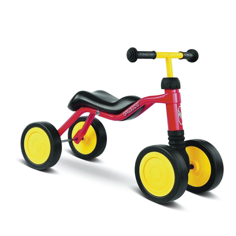 Puky 4023, quadriciclo per bambini con sedile ergonomico e ruote silenziose