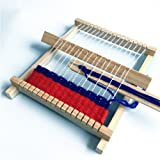 DIY Hand-Knitting Wooden Loom Toys Children Weaving Machine Interllectural Development Technology Production
