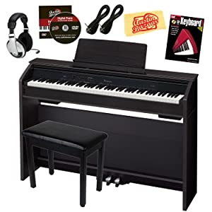 Casio Privia PX-860 88-Key Digital Piano Bundle