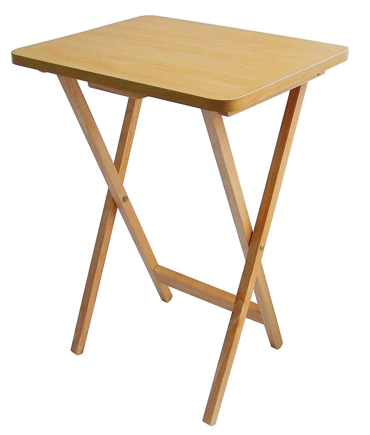 Folding Wooden Snack Table Desk Small Dining Foldable