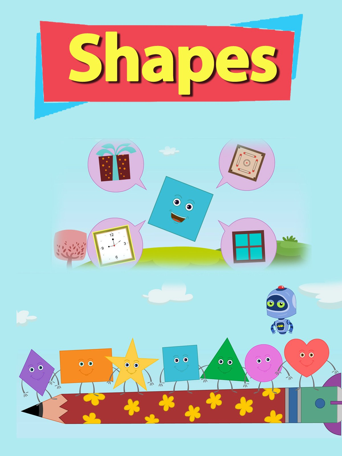 Shapes on Amazon Prime Instant Video UK