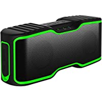 Urpower II Portable Wireless 20W Bluetooth Waterproof Speakers (Black)
