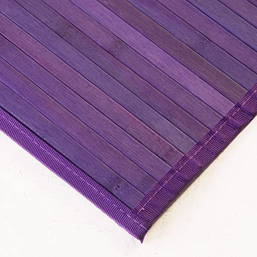 Buykuki alfombra bamb malva 150x220 hogar - Alfombra bambu ikea ...