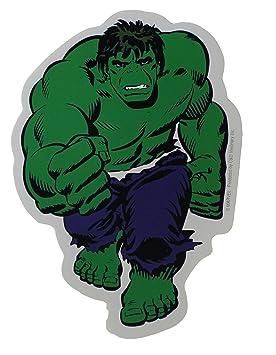 Amazon.com: Licenses Products Marvel Comics Retro Hulk Sticker ...