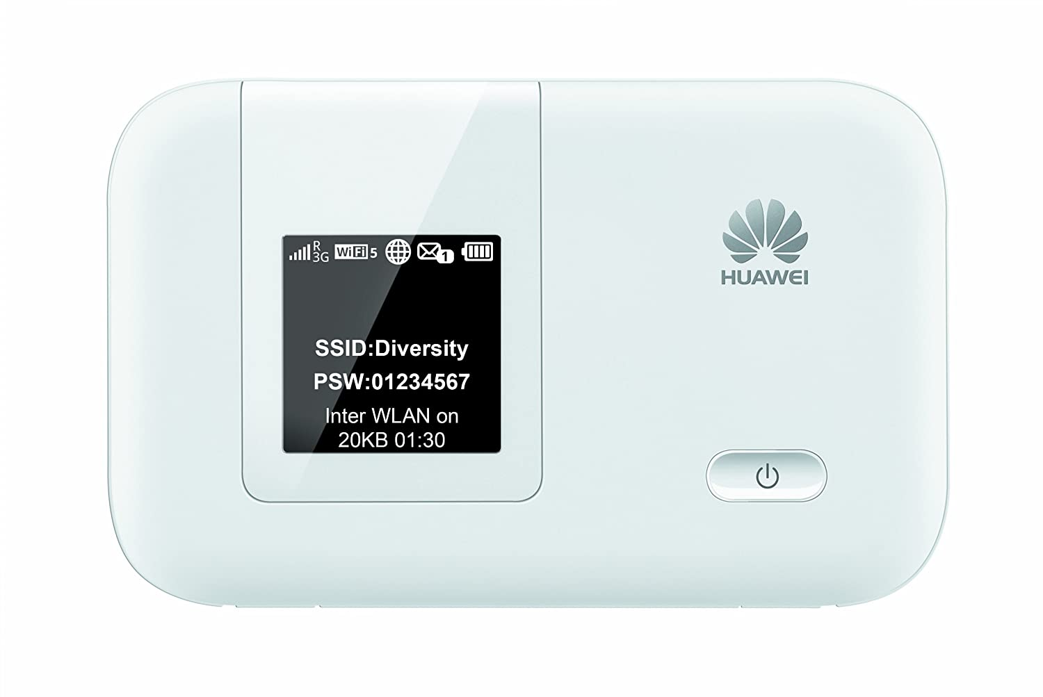 HUAWEI E5372s-32 150 Mbps 4G LTE & 42 Mbps 3G Mobile WiFi Hotspot (3G Worldwide, 4G LTE in Europe, Asia, Middle East, Africa) (White)