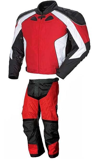 AZ 2015 STYLE moto hommes/femmes CE ARMOUR CORDURA en 2 pièces - 100%  étanche, disponible dans tout Size's