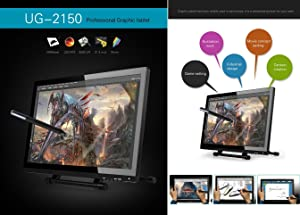 Ugee® UG-2150 21 5 Inch Pen Tablet Monitor Pen Display with Pergear