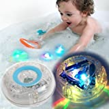 Light-up Toy Waterproof for Kids Durable Floating Safe for Baby with Instruction Boys and Girls Toddler Toys Children Prime Water Gift Toys Educational Boat Pool Fun (Tamaño: Blue)