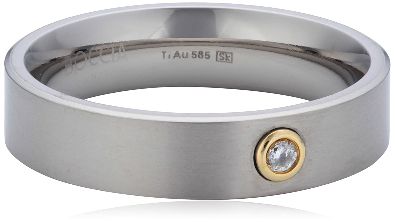 Boccia Damen-Ring Titan gold 1 Brilliant 0,05 0101-2448 online kaufen