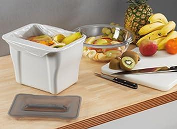 wesco poubelle de cuisine cuisine 5 l bricolage m330. Black Bedroom Furniture Sets. Home Design Ideas