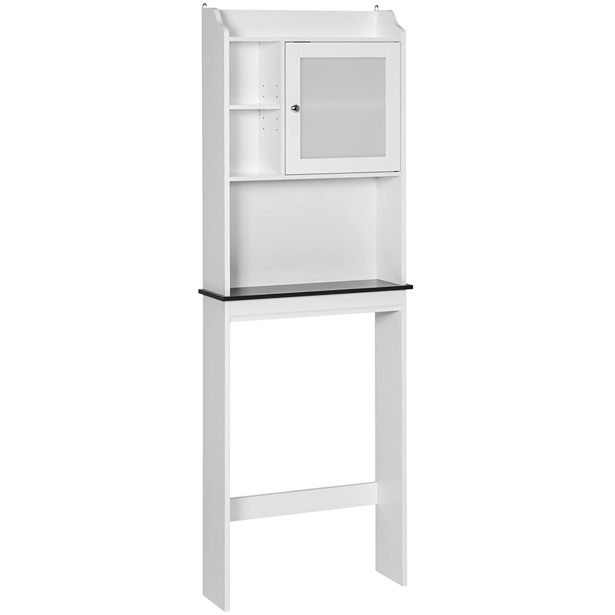 Best Choice Products Bathroom Over-the-Toilet Space Saver Storage Cabinet- White