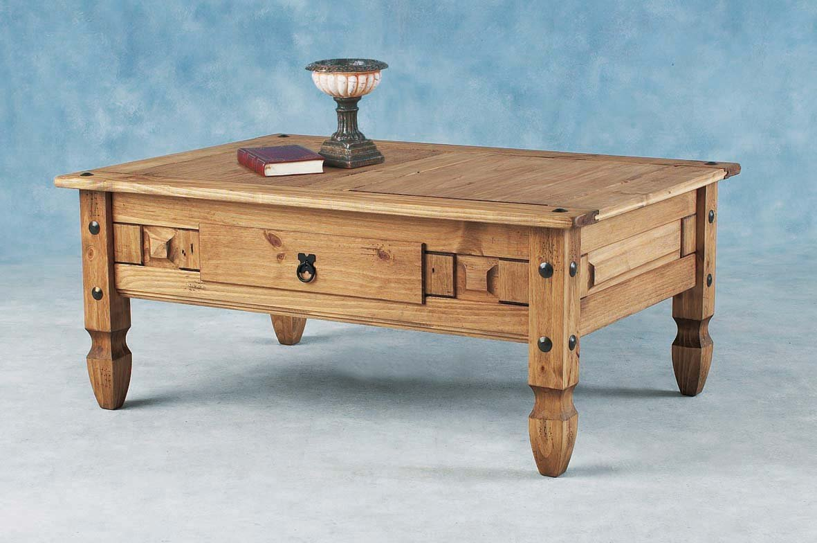 Corona Coffee Table with Drawer       review