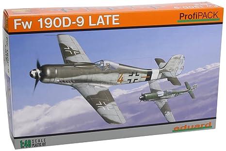 Eduard EDK8189 Fw190 D-9 Late 1:48 Profipack Plastic Kit Maquette