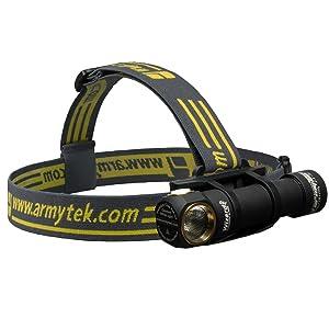 Armytek Wizard Pro Stirnlampe mit 1200 Lumen und Helligkeitstabilisierung gold  Kritiken und weitere Infos