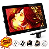 Ugee HK1560 15.6 Inches IPS Screen 1920*1080 HD Resolution Drawing Monitor Interactive Pen Display with 1 PC Screen Protector