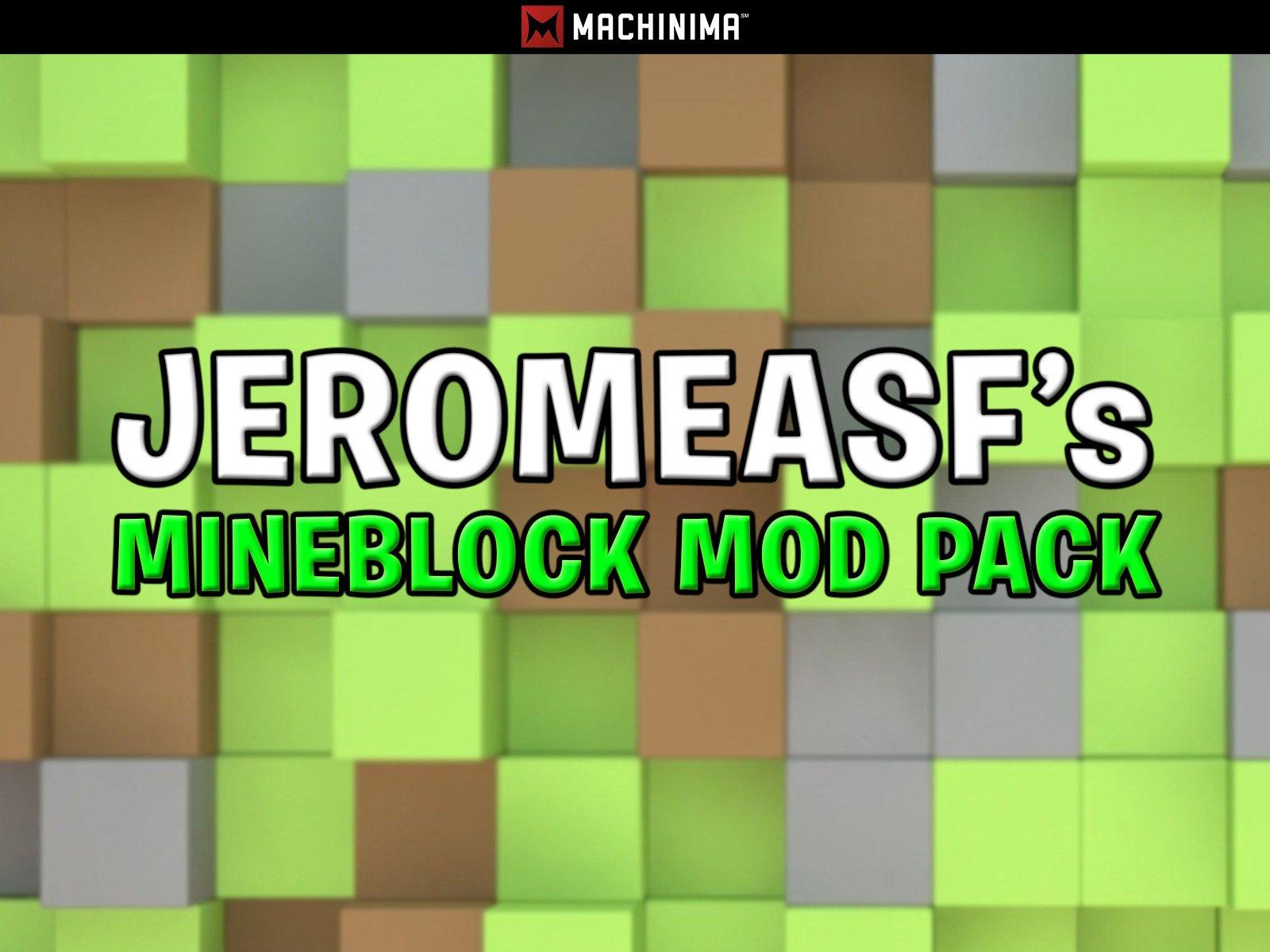 JeromeASF's Mineblock Mod Pack - Season 5
