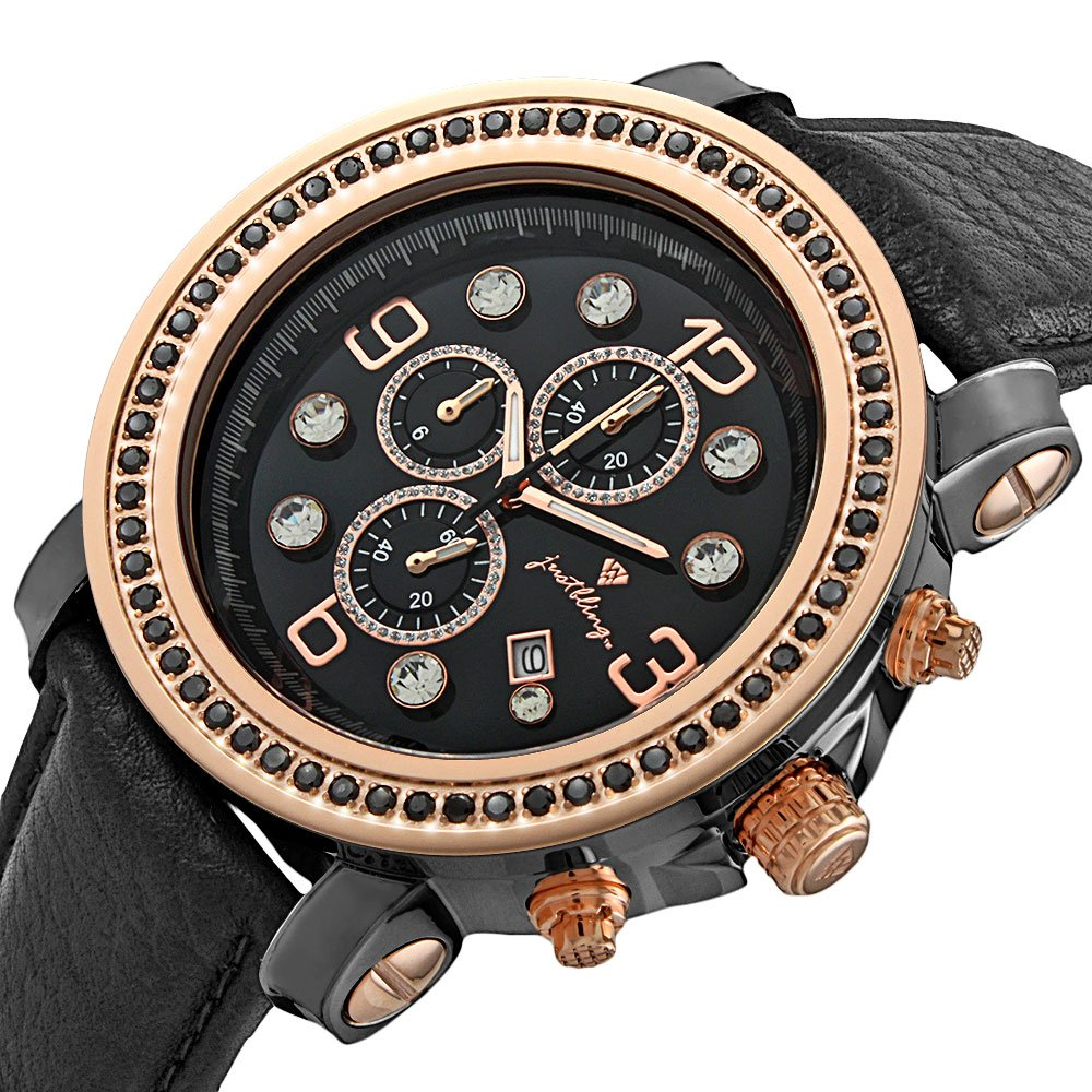 Đồng hồ JBW Mens JB-6116L-60-G Tazo 18K Rose Gold-Plated