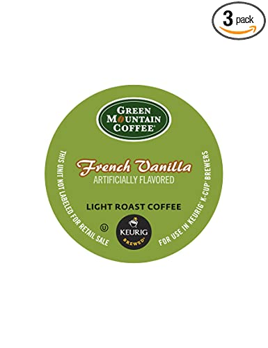 Amazon - Green Mountain Coffee French Vanilla, K-Cup 3x12ct - $15.46