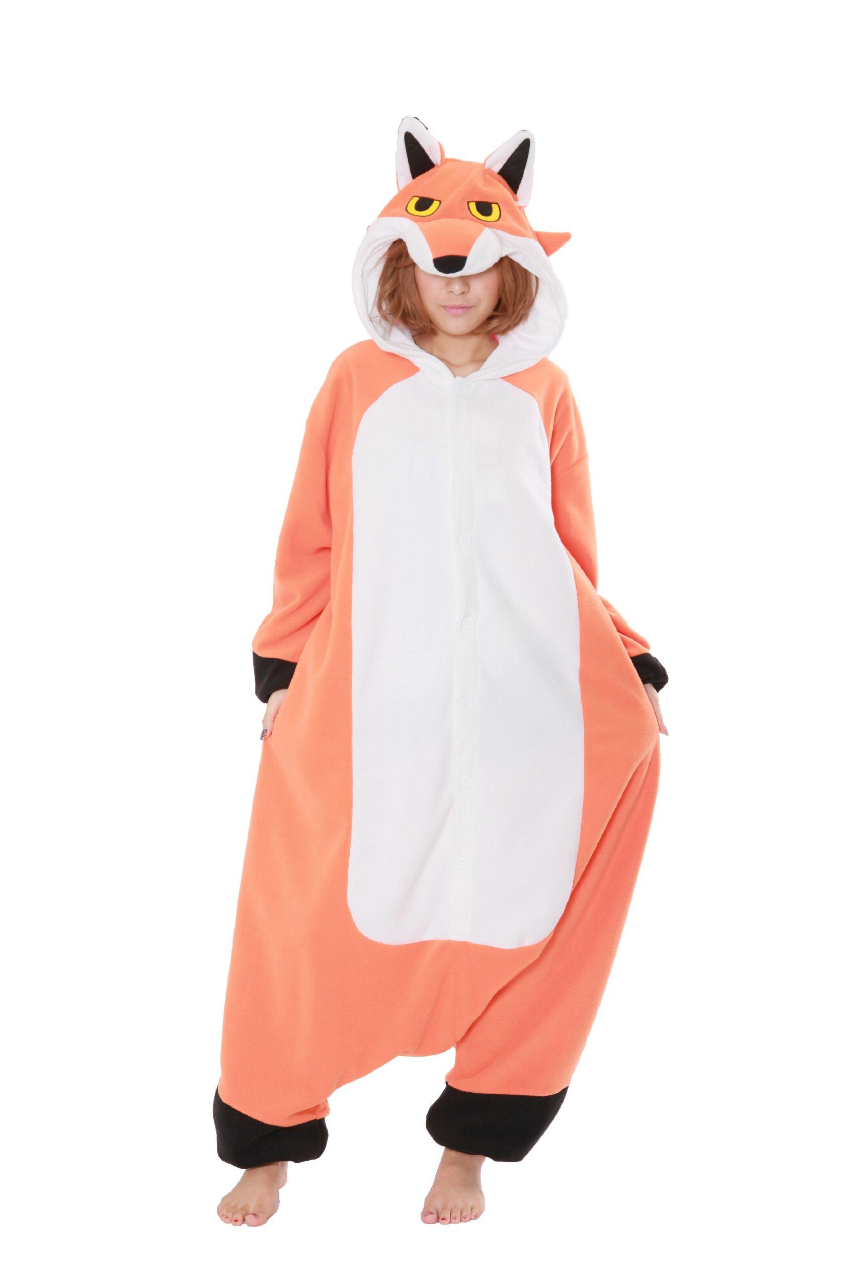 Red Fox Kigurumi - Adult Costume