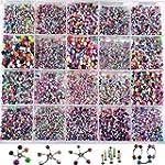 iDealhere 110pcs Mixte Color� 316L Ac...