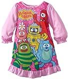 Nickelodeon Little Girls'  Yo Gabba and Friends Night Gown, Pink, 2T