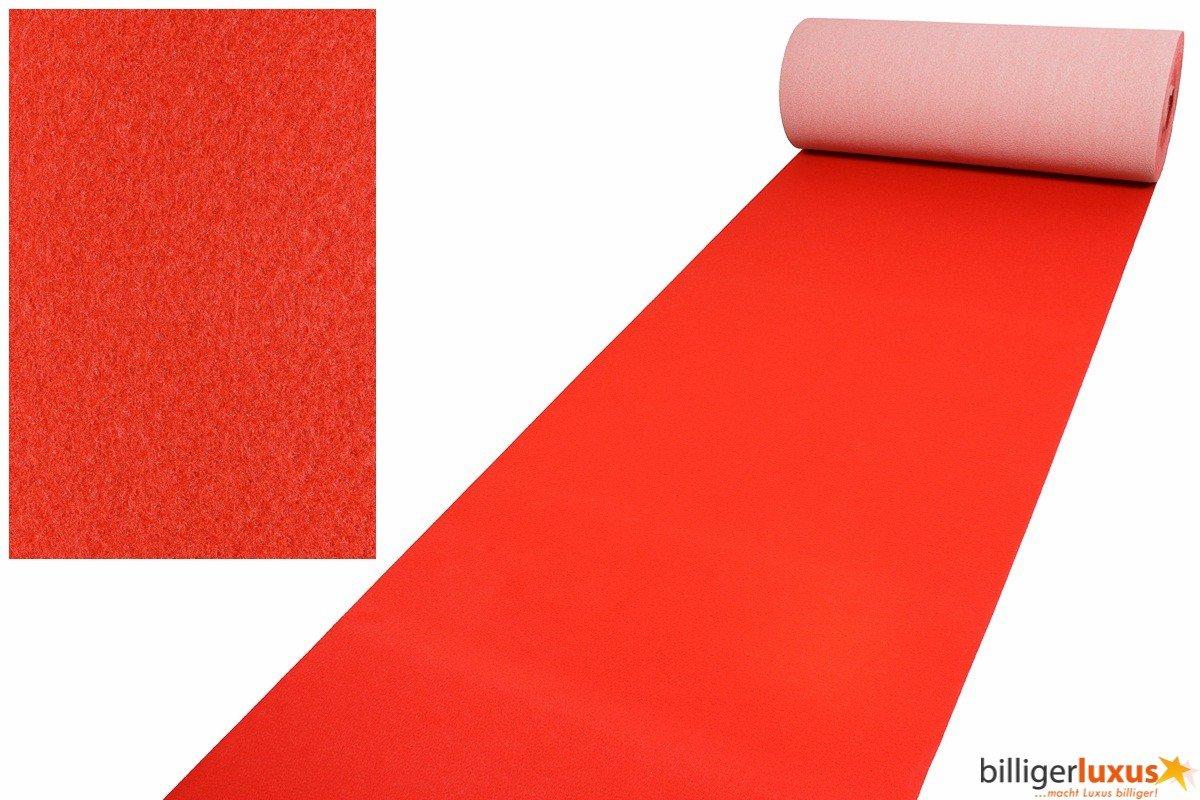 Roter Teppich VIP Red Carpet Läufer Event Teppich Premierenteppich rot 2m, Länge1100 cm   Kritiken und weitere Infos