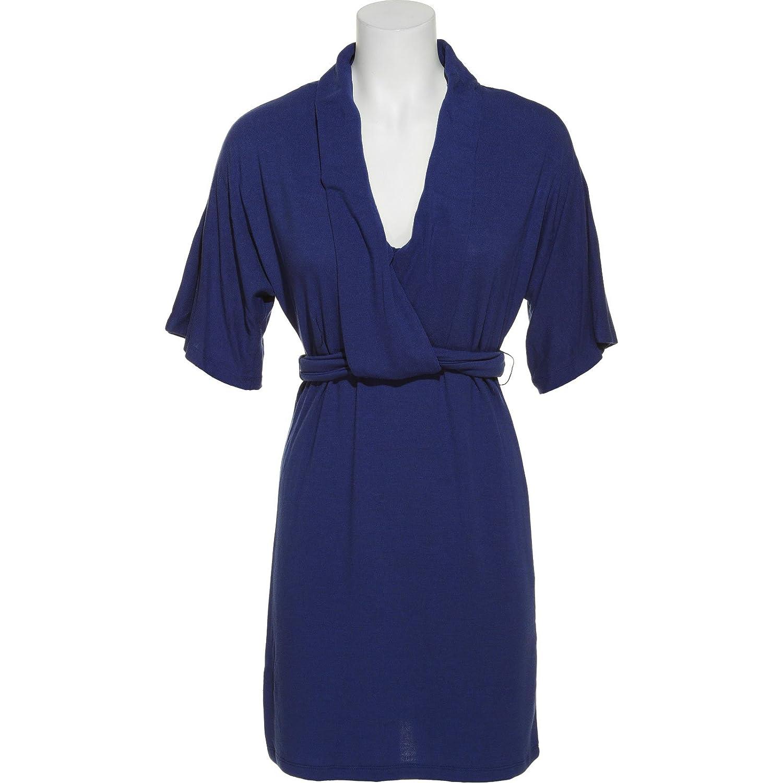 ALYN PAIGE NEW YORK Sweater Dress w/ Waist Tie шорты paige голубой