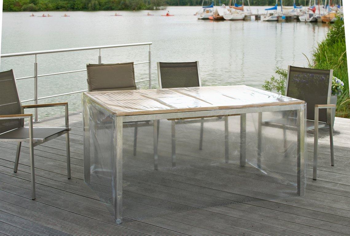 Eigbrecht 142149 Klarsicht Abdeckhaube Schutzhülle mit Abhang für Tischplatten 140x95x70cm kaufen