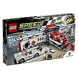 レゴ スピードチャンピオン ポルシェ 919 ハイブリッド& 917K ピットレーン 75876