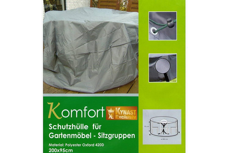 Schutzhülle für Gartenmöbel KYNAST Komfort grau 200 x 95 cm online kaufen
