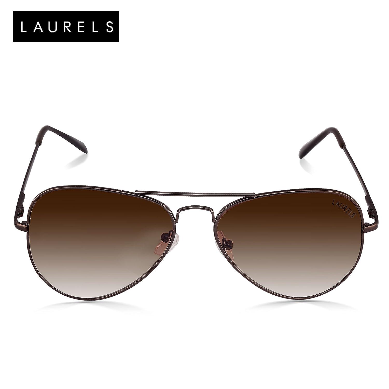 Laurels Aviator Mens Sunglasses (Ls-Eag-090909|58|Brown)