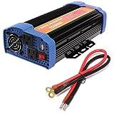 1500W Car Power Inverter DC 12V to AC 110V Inverter 3000 PEAK WATT INVERTER For for Laptop, Tablet, Smartphone and Other Household Devices (Color: US-BYGD-1500W-12V)