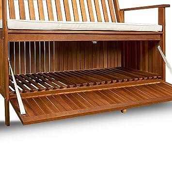 tolle gro e gartenbank mit staubox und inklusive. Black Bedroom Furniture Sets. Home Design Ideas