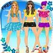 Dress Up Summer Fashion Girl